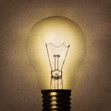 Vintage bulb Stock Photos