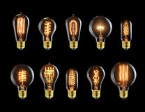 Vintage bulbs Stock Photography