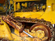 Vintage Bulldozer Royalty Free Stock Photo