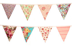 Vintage bunting Stock Photo