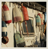 Vintage buoys Royalty Free Stock Images