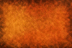 Vintage burned leather Stock Photography