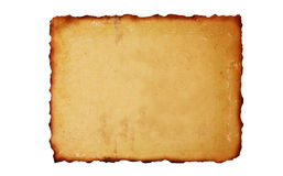 Vintage burned paper background Royalty Free Stock Images