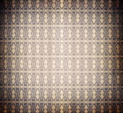 Vintage burnt decorative wallpaper Royalty Free Stock Photos