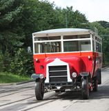 Vintage Bus Royalty Free Stock Photo
