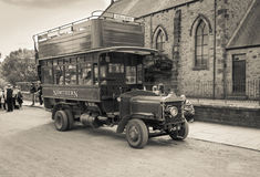 Vintage Bus Stock Image
