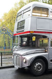 Vintage bus in London. Stock Photography