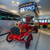Vintage bus Milnes-Daimler double-decker bus, 1907 Stock Image