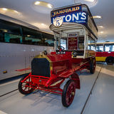 Vintage bus Milnes-Daimler double-decker bus, 1907 Stock Photos