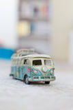 Vintage Bus Toy Stock Photography