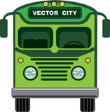 Vintage bus vector Stock Photo
