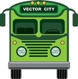 Vintage bus vector Stock Photo