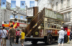 Vintage Buses, London Stock Image