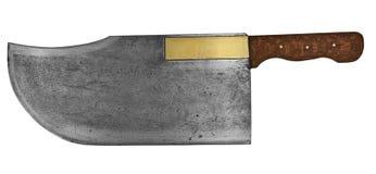 Vintage butcher knifе Royalty Free Stock Image