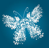 Vintage butterfly Stock Photos