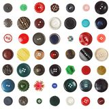 Vintage buttons Stock Image