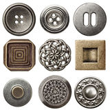 Vintage buttons Stock Images