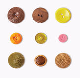 Vintage buttons Royalty Free Stock Photo