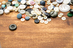 vintage buttons Royalty Free Stock Photography
