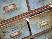 Vintage Cabinet Stock Photography