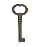 Vintage cabinet lock key Stock Photo
