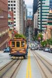 Cable Car in San Francisco California Royalty Free Stock Photos