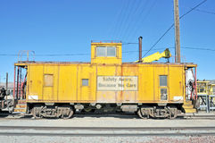 Vintage Caboose Stock Image