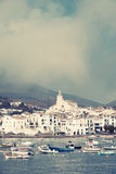 Vintage Cadaques Stock Photos