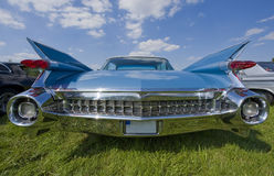 Vintage cadillac backview Stock Image