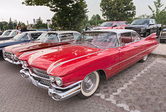 Vintage Cadillac Coupe de Ville of the fifties Stock Photography