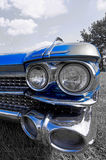 Vintage cadillac headlights Royalty Free Stock Photos
