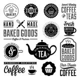 Vintage Cafe and Bakery Designs Royalty Free Stock Images
