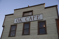 Vintage Cafe Wooden Front Royalty Free Stock Photo