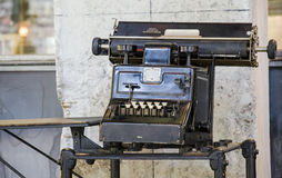 Vintage Calculating Machine Royalty Free Stock Images