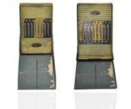 Vintage calculator machine Stock Photo