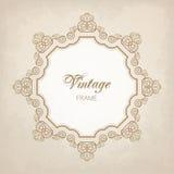 Vintage calligraphy frame Royalty Free Stock Image