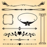 Vintage calligraphy ornament Royalty Free Stock Photography