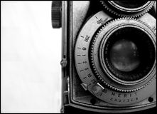 Vintage Camera. My old Mamiyaflex Stock Images