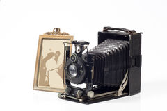 Vintage camera Stock Photos