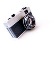 Vintage Camera. Isolated on white background royalty free stock photo