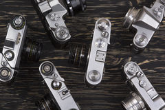 Vintage camera background Royalty Free Stock Images