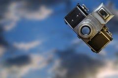 Vintage camera. Stock Photo