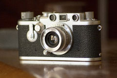Vintage Camera Closeup Stock Image