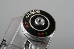 Vintage camera controls Stock Image