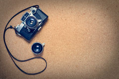 A vintage camera Royalty Free Stock Image