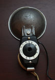 Vintage camera flash Royalty Free Stock Photography