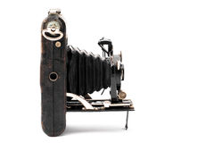 Vintage camera from forties Stock Image