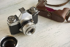 Vintage camera gear Royalty Free Stock Photo