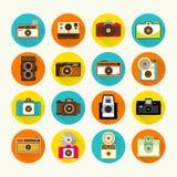 Vintage Camera Icon Vector Design Royalty Free Stock Photos