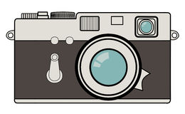 Vintage camera illustration Royalty Free Stock Photos